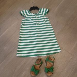 Hanna Andersson dress and shoes